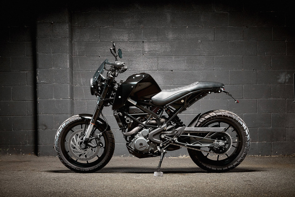 Put up your dukes! A KTM 390 custom from Ellaspede | Bike EXIF