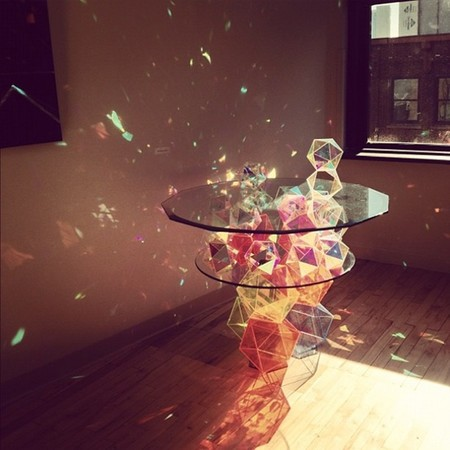 Sparkle Palace cocktail table