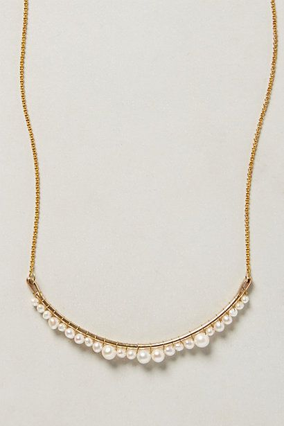 Pearlene Necklace - anthropologie.com | accessory | Pinterest