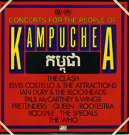 Various Artists - Concert for the People of Kampuchea - MACCA-Central.com, The Paul McCartney FUNsite
