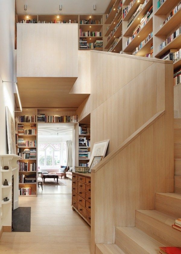 Bookshelves & Reading Places / Book Tower House