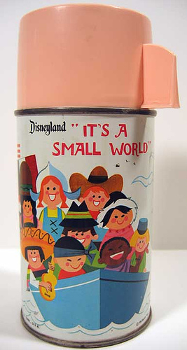 It's A Small World Thermos Mary Blair Art | Flickr - Photo Sharing!