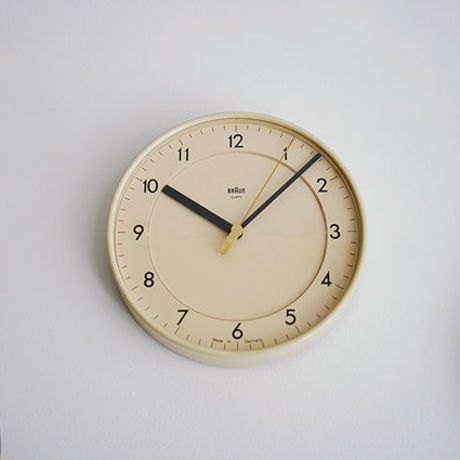 "New Vintage ""Wall Clock/Braun"" 