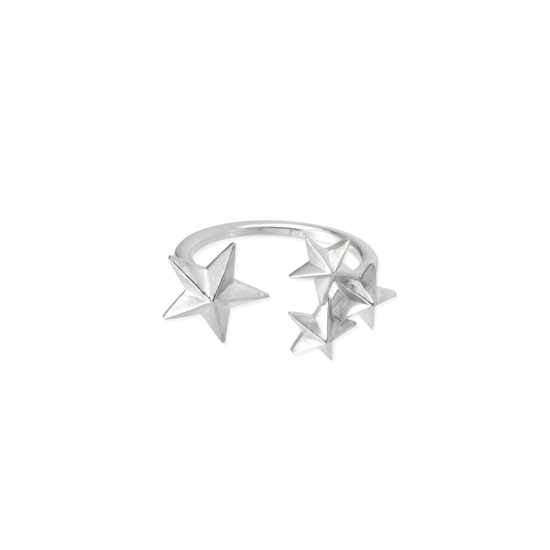 Star Split Ring - chigo online shop