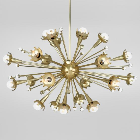 Modern Lighting | Sputnik Chandelier Ceiling Lamp | Jonathan Adler