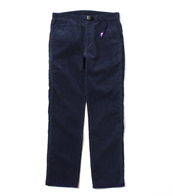 nanamica / Corduroy Weaving Belt Pants