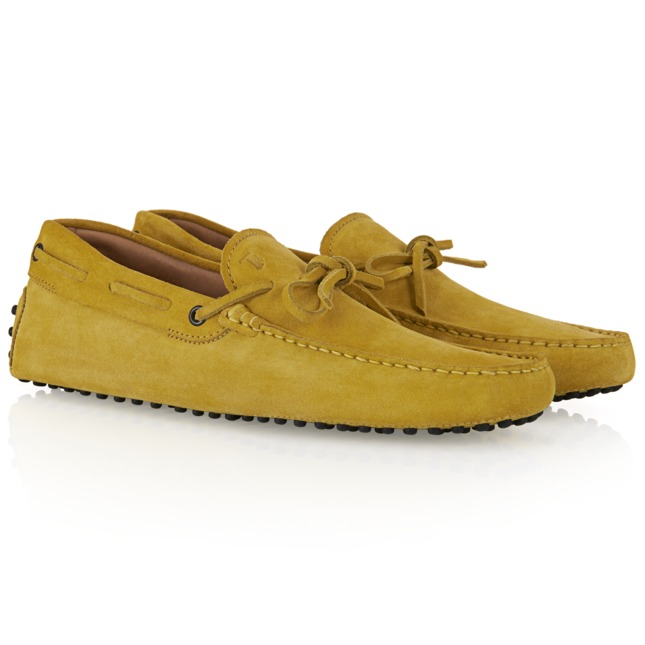 Gommino Driving Shoes in Suede, All, Shoes, Shop Man. Tods