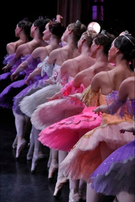 Favorite places and spaces / French ballet