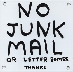 David Shrigley: No Junk Mail - Satellite / サテライト