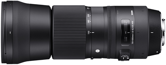 Contemporary   150-600mm F5-6.3 DG OS HSM  SIGMA GLOBAL VISION