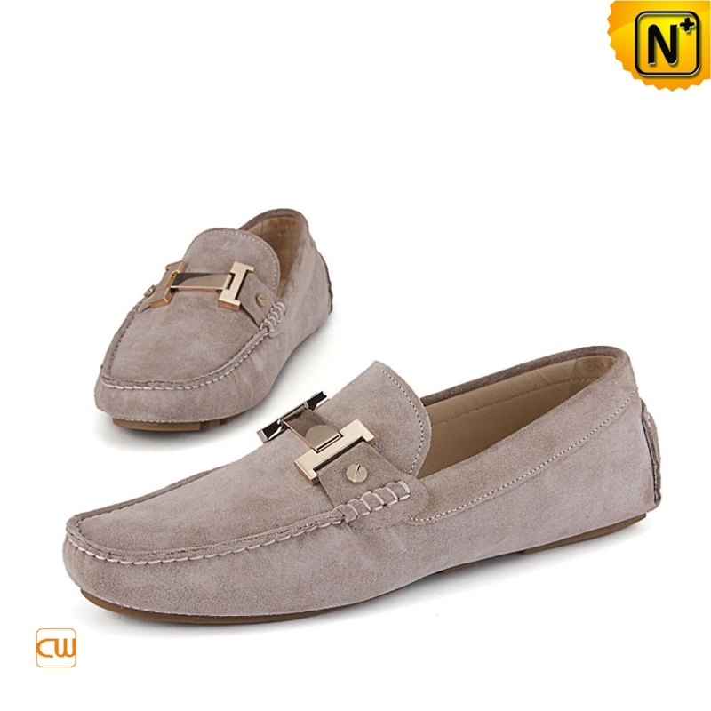 Mens Designer Leather Driving Shoes CW713127 | CWMALLS