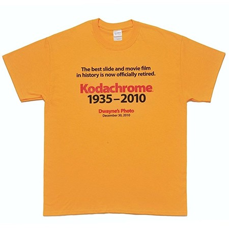 """THE KING OF FILMS """"Kodachrome(R)"""" of Eastman Kodak, Official Anniversary T-shirt by Last Lab."""