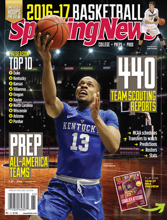 2016-17 College, Preps & Pros Basketball Yearbook