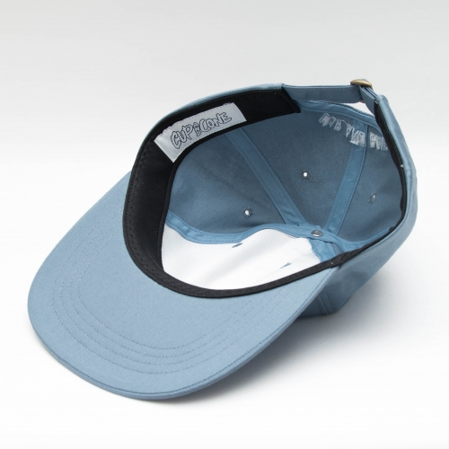 Six Panel Cap - Slate - cup and cone WEB STORE