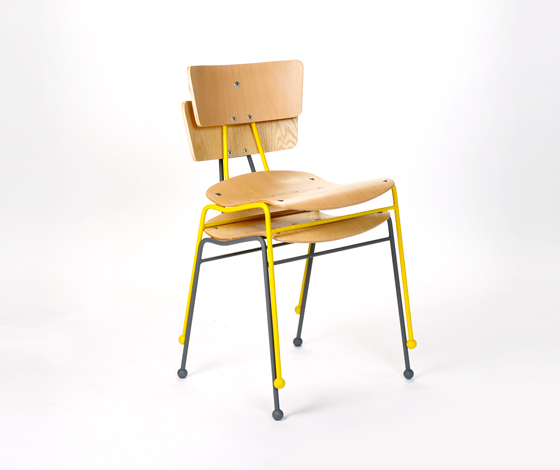 'Roebuck' chair by Ernest Race reissued by Race Furniture (UK) @ Dailytonic