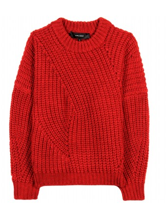 mytheresa.com - Isabel Marant - THEO WOOL PULLOVER - Luxury Fashion for Women / Designer clothing, shoes, bags
