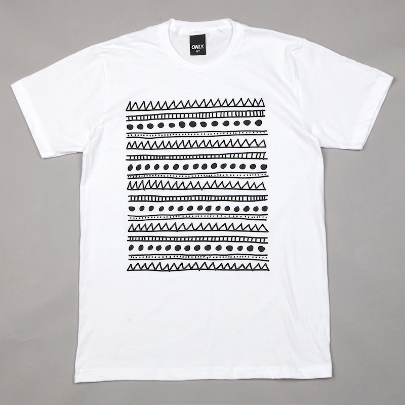 Flatspot - Only NY Museum T Shirt White