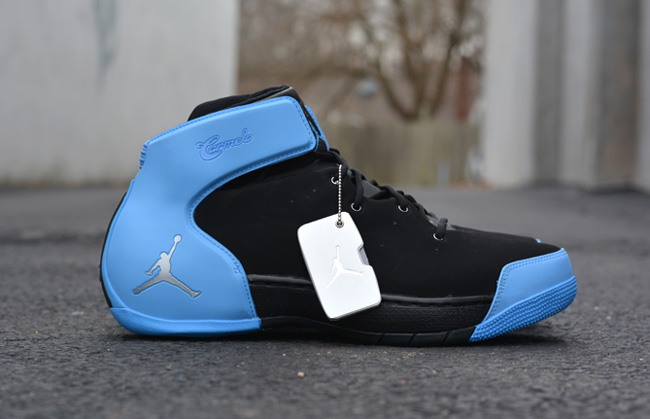 "Jordan Melo 1.5 ""Black & University Blue"" (Release Date)"