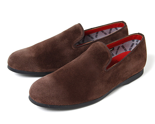 nonnativePASSENGER SLIP ON SHOE - COW SUEDE WITH GORE-TEX®2L BY REGAL for (GS)   vendor