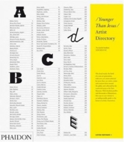 BOOKS by publisher > PHAIDON - The Younger than Jesus Artist Directory - Satellite サテライト | art books 現代アート書籍 | art goods 現代アートグッズ | art works 現代アート作品