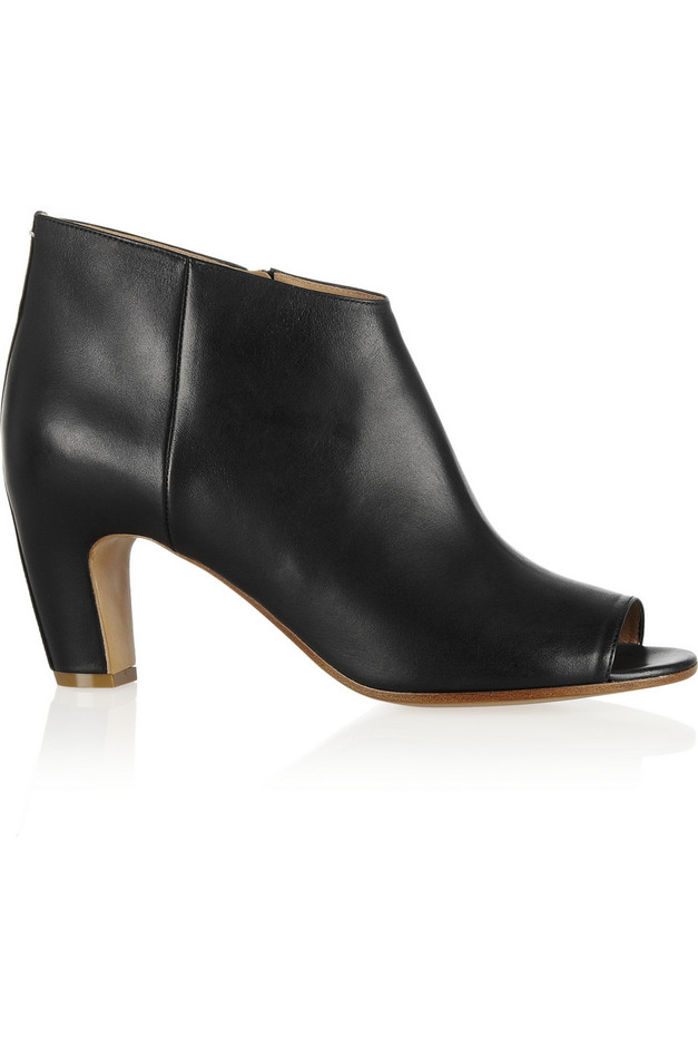 Maison Martin Margiela | Leather ankle boots | NET-A-PORTER.COM