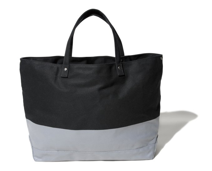 SOPHNET. | PRODUCT | 2 TONE TOTE BAG