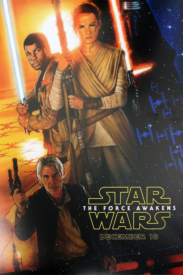 Star Wars: The Force Awakens Theatrical Poster First Look, In-theater Exclusives and More | StarWars.com