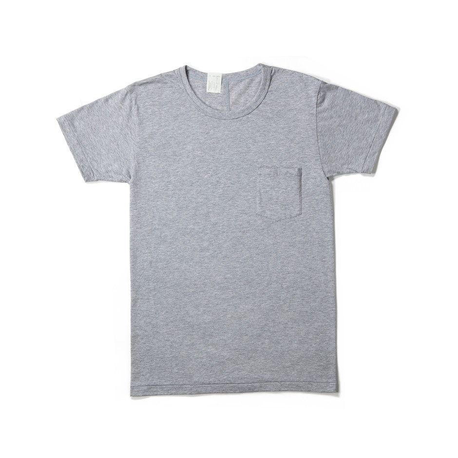 2 RCH : CREW NECK T-SHIRT (T.GRAY) : MISTER HOLLYWOOD OFFICIAL ONLINE STORE