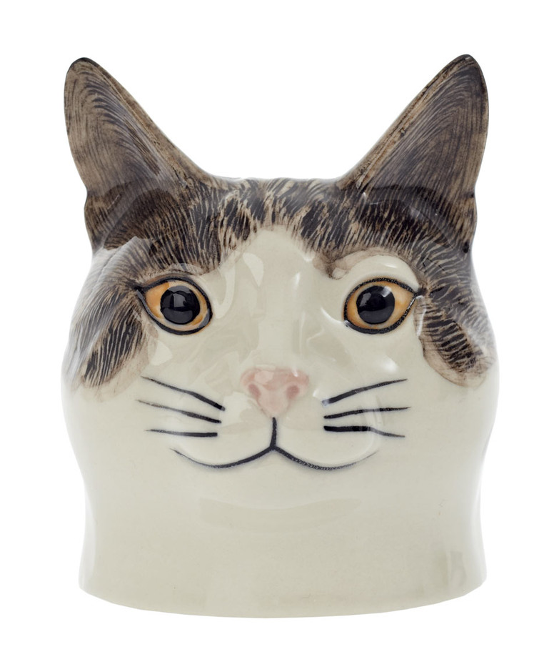 Edith The Cat Egg Cup, Quail. Shop more egg cups from the kitchen and dining collection online at Liberty.co.uk