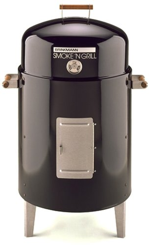 Amazon.com: Brinkmann 810-5301-6 Smoke'N Grill Charcoal Smoker and Grill, Black: Home & Kitchen