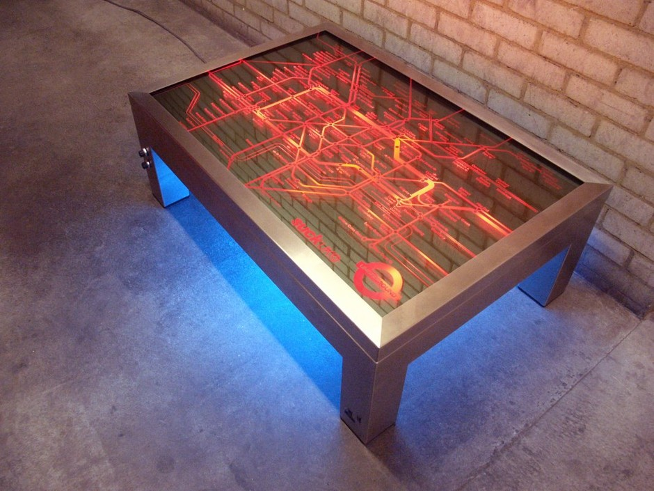 Coffee Table : Light up the room