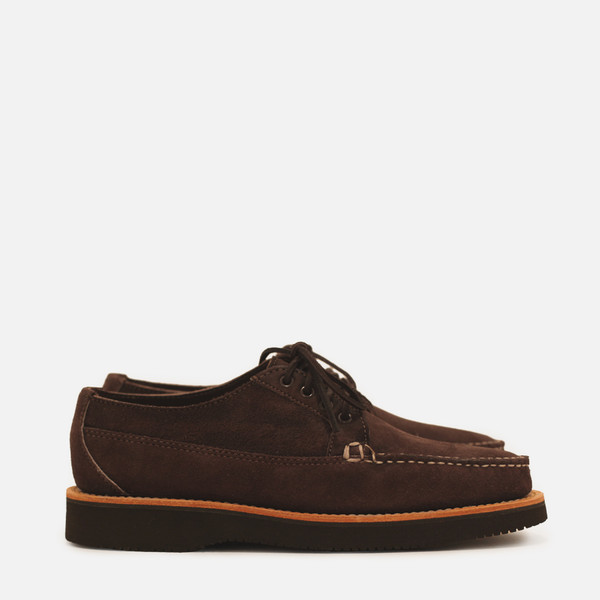 Marcel Oxford - Chocolate Suede – Inventory Store