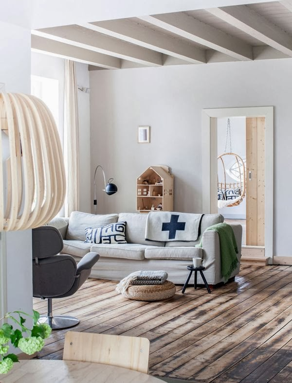 my scandinavian home: A stunning Dutch home blending old and new. And give-away winner....