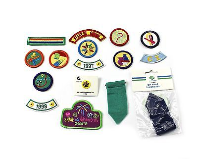 Vintage 1990s 90s Girl Scout Lot (13 Patches) (1 Pin) (2 Insignia Tabs) | eBay