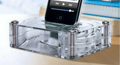 3G iPhone Accessories – The Griffin AirCurve Acoustic Amplifier for the iPhone » Geeky Gadgets