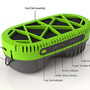 Powertrekk charges gadgets over USB, using one fuel cell and one Li-ion battery (video) -- Engadget