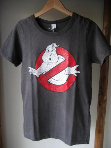 GHOSTBUSTERS TEE BLK「Horse and Deer」