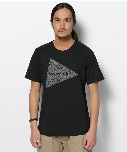 and wander / 【and wander】dry jersey short sleeve T (M)(Tシャツ・カットソー) - ZOZOTOWN