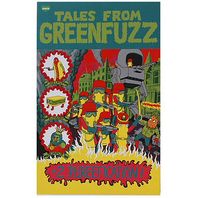 Amos Shop :: THEMES :: TALES FROM GREENFUZZ :: Tales From Greenfuzz 2 Comic