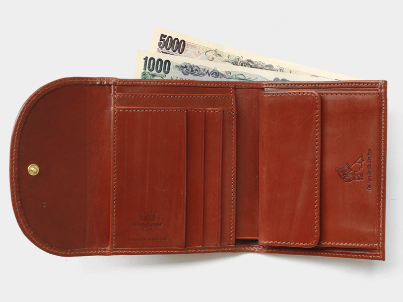 FRAME / S1058 SMALL 3FOLD WALLET / BRIDLE