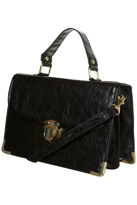 Black Frame Lock Bag - Bags & Purses - Accessories - Topshop