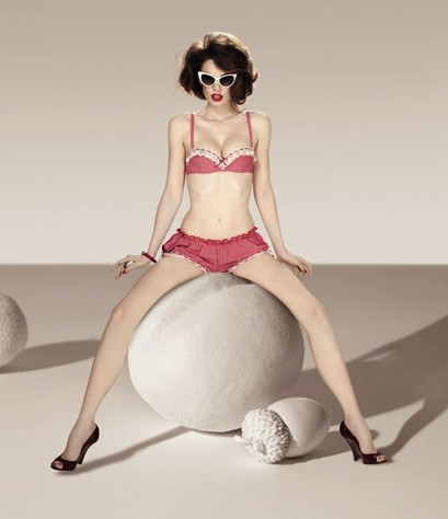 Chantal Thomass - Spring 2011 ~ Frou Frou Fashionista - Luxury Lingerie Blog