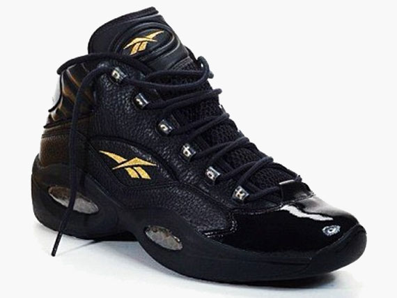 Reebok Question – Black – Gold | SneakerNews.com