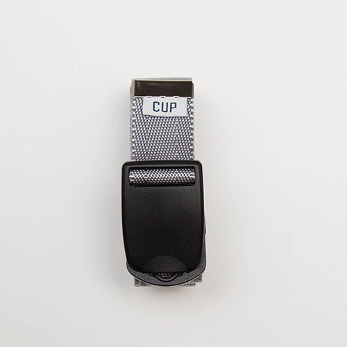 Tape Belt - Grey - cup and cone WEB STORE
