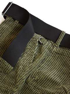 LOVE online store|MEN  Stripe Cord Army Trousers (olive)