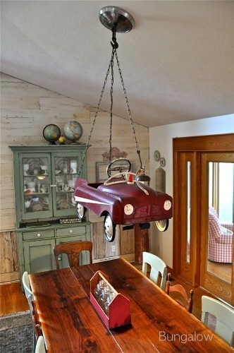 interior ◆ Notions / Toy car chandelier By Bungalow, featured on I Love That Junk - definitely different