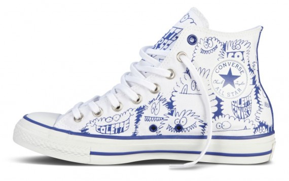 Kevin Lyons x Converse Chuck Taylor All Star for colette - SneakerNews.com