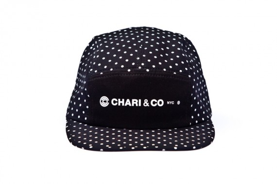 Chari & Co. - Polka Dot 5 Panel Cap | FreshnessMag.com
