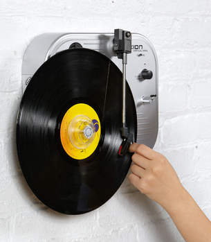 Ion Audio Vertical Turntable   Shop Record Players Now   fredflare.com