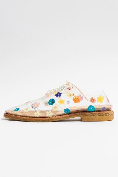 Anrealage Clear Floral Oxfords - Koshka - Fashion. Trends. Boutique.